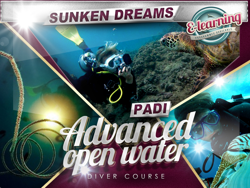 Sunken Dreams PADI Advanced Open Water Diver Course