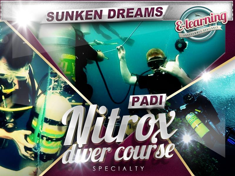 Sunken Dreams PADI Nitrox Diver Course