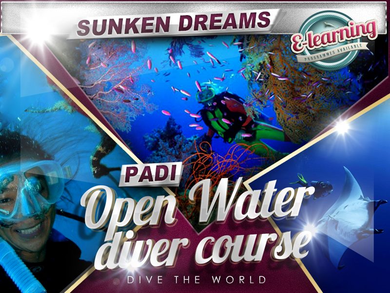 Sunken Dreams PADI Open Water Diver Course