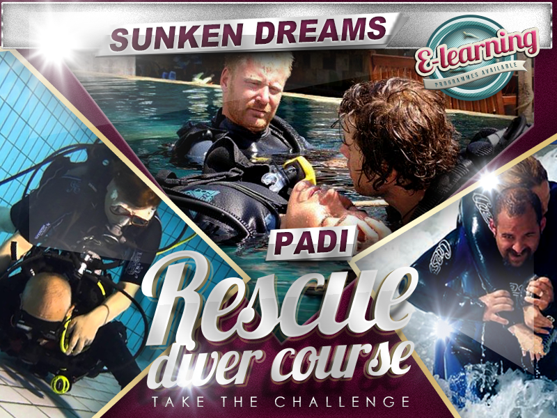 Sunken Dreams PADI Rescue Diver Course