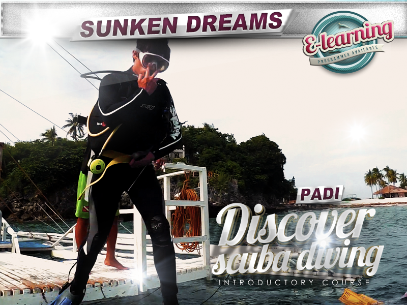 PADI Discover Scuba Diving Introductory Course